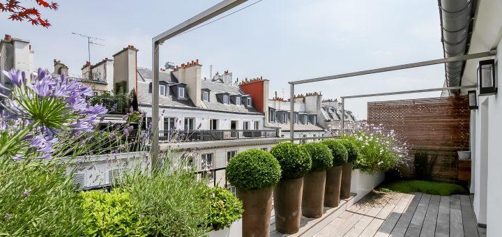 Amménagement terrasse en ville